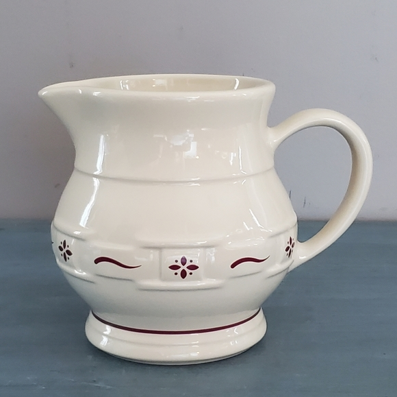Vintage Longaberger Pottery Pitcher